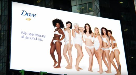 dove billboard